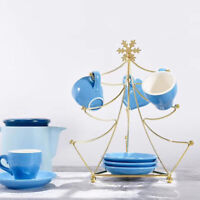 Metal Mug Holder Cup Coffee Tea Glass Cup Rack Storage Stand Home Kitchen Bar