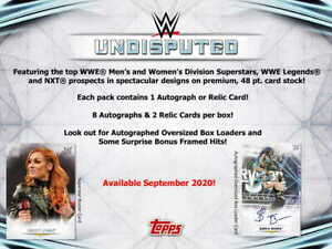 2020 TOPPS WWE UNDISPUTED - COMPLETE 100 CARD MASTER SET - ILLUSTRATIONS + BASE