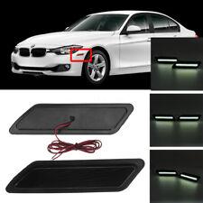 For 13-15 BMW F30 31 3-Series LED Side Front Bumper Marker Reflector Light Lamps
