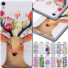 For Sony Motorola Rubber Silicone Clear Soft TPU Cute Back Cover Phone Case Skin