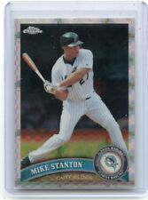 2011 TOPPS CHROME #85 MIKE (GIANCARLO) STANTON XFRACTOR, FLORIDA MARLINS, 042018