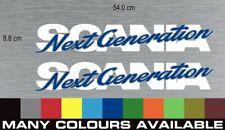 Scania Next Generation Window  Decals / stickers