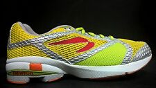 Newton Women's Size 5.5 Gravity Cushion Trainer Running Shoes 002 Yellow Green