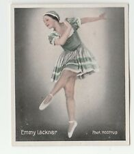 1930s German Dance Floors Of The World Tobacco card #048 Emmy Lackner
