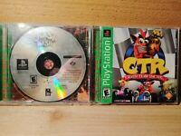 Crash Bandicoot PS1 Video Game Lot Crash Bash & CTR Crash Team Racing Tested