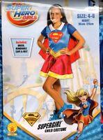 Super hero DC girl - Size 4-6  95cm-125cm Brand New