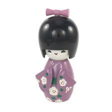 Decorazione Tavola Viola Kimono Giapponese Kokeshi giocattolo bambini
