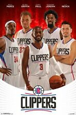 LOS ANGELES CLIPPERS - TEAM POSTER - 22x34 NBA BASKETBALL LA 14335