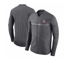 Men' Atlanta Falcons Nike Super Bowl LI 51 HYBRID JACKET Fullzip AA72222 021 MED