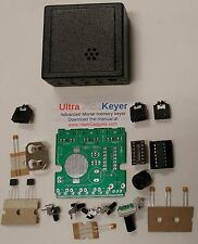 Ham Radio Cw memory Keyer Kit Ultra-Pk small easy program! Morse code Iambic