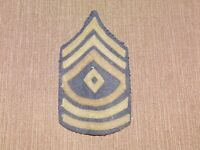 VINTAGE WWII US ARMY SERGEANT MAJOR PATCH