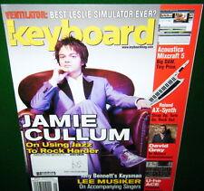 2010 Roland AX-Synth & NEO VENTILATOR Reviews, JAMIE CULLUM, Keyboard Magazine