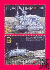 TRANSNISTRIA 2015-2016 Space Moon Research 1st Lunokhod 45th Anniversary 2v MNH