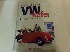 VW Käfer Prospekte von Rudi Heppe * KdF Wagen * Käfer Cabrio