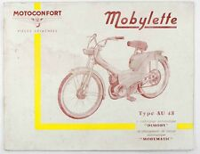 Catalogue vers 1965  MOTOCONFORT - MOBYLETTE Type AU 48