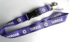 MOBILE PHONE/IDENTITY CARD LANYARD NECK STRAP PURPLE WITH LOGO MOTIF (YMHA)