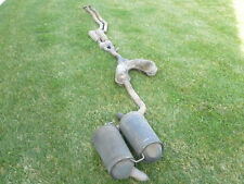 BMW E39 Complete Exhaust System, Catalytic Converter CAT, Muffler, Silencers