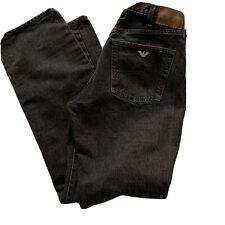 Giorgio Armani Jeans Men's Denim Straight Leg 34 x 33 Made in Italy