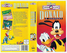 DONALD AND COMPANY DISNEY VHS VIDEO CASSETTE TAPE  PAL~A RARE FIND~