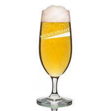 Leonardo vidrio Pilsner Copa de cerveza incl. Grabado