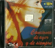 Canciones De Ayer Y De Siempre Volume 4 Latin Music CD