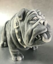 English bulldog dog figurine Gifts Souvenirs small size marble chips