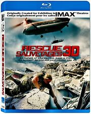 NEW 3D BLU RAY +BLU RA - RESCUE 3D - IMAX