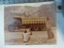 Vintage Photo-Mack Truck Factory Trucks In Mid-East #11 Bethlehem PA 1970's