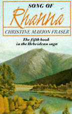 Song of Rhanna, Christine Marion Fraser, Used; Acceptable Book