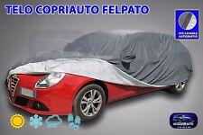Telo copri auto felpato Giulietta Alfa impermeabile in PVC copriauto Taglia L
