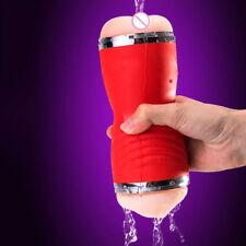 Oral Sex Cup Male Masturbator Vibrators Real Vagina for Men Pocket Pussy Mouth