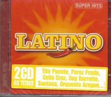 2 CD 40T LATINO TITO PUENTE/RAY BARRETTO/SANTANA/PEREZ PRADO/CELIA CRUZ...NEUF