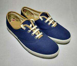 Hotter Mable Deck Shoes Women's Plimsolls Comfort Concept Blue - UK 5.5
