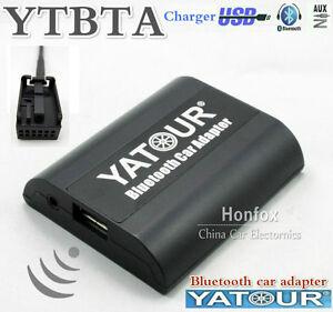 Yatour YT-BTA Bluetooth A2DP Adapter A2DP for Peugeot Citroen RD4 RT3 Can-bus