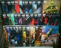 Full Sets X-FILES #1-#25 + Annual #1 #2 YEAR ZERO #1-#5 + Special IDW COMICS NM