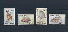 LO68884 Barbados animals fauna flora wildlife fine lot MNH