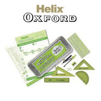 Helix Oxford Maths Geometry Colours Traditional Set In Tin