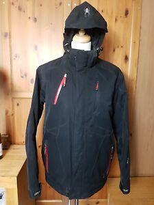 Spyder Ski Jacket | X-static Dermizax-EV Fabric |BLACK  | UK 44