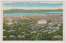Canada postcard - Looking East, Montreal - P/U 1929