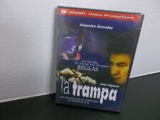 la trampa Alejandro Alcondez Juan Aguero  DVD New PELICULA CRISTIANA