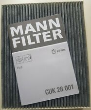 Mann CUK28001 Cabin Filter Activated Carbon Type Ford