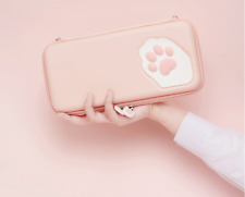 Cat Paw Carrying Case Pouch Bag for Nintendo Switch and Switch Lite Gifts