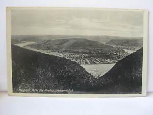 Alte AK Boppard - Perle des Rheins - Vierseenblick - gelaufen ca. 1935