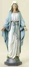 "NEW! 10"" Our Lady of Grace Statue Figurine Virgin Mary Madonna Figure Gift"