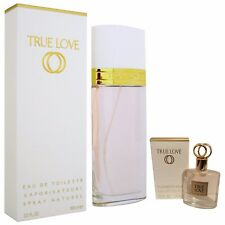 Elizabeth Arden True Love 100ml EDT Spray + 3.7ml EDT Mini Perfume for Women