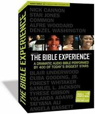 Inspired by ... the Bible Experience : A Dramatic Audio Bible Performed by 400 of Today's Biggest Stars by Media Group Productions Staff (2007, Compact Disc, Unabridged edition)