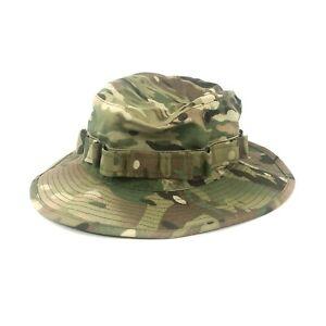 Multicam Boonie Cap Military Crye Precision Camo Sun Hat Army Size 7 3/4
