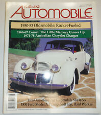 Collectible Automobile Magazine Oldsmobile & Comet August 2001 030615R2