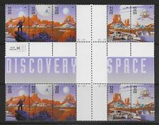 US Stamps #3238-#3242 32¢ Space Discovery Cross Gutter Block of 10 MNH