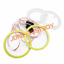 "1x 60mm (2.36"") LED Halo Rings Angel Eyes HID Super White Headlight Fog Light"